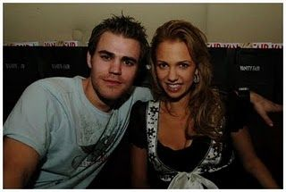 Marnette Patterson Paul Wesley and Marne Patterson
