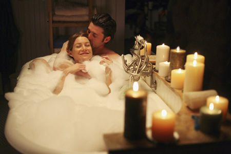 Grey's Anatomy Ellen Pompeo and Patrick Dempsey