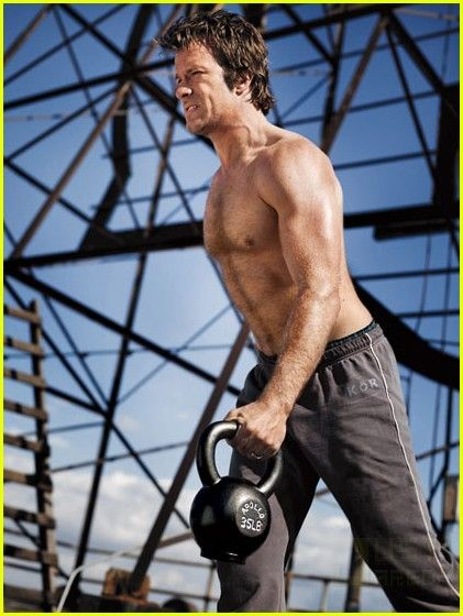 Thomas Jane Men's Fitness Magazine Pictorial June 2010 United States