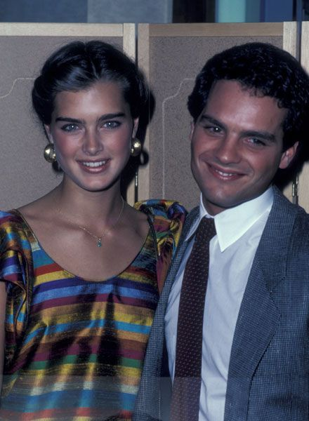Martin Hewitt  and Brooke Shields