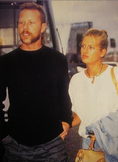 Francesca Hetfield  and James Hetfield