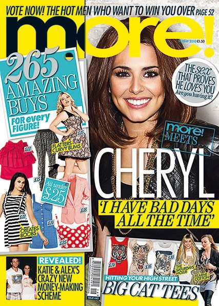 Cheryl Cole - More! Magazine Cover [United Kingdom] (10 May 2010)