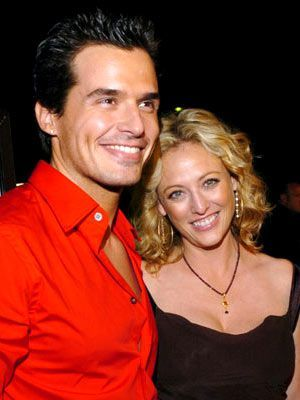 Virginia Madsen Antonio Sabato, Jr. and
