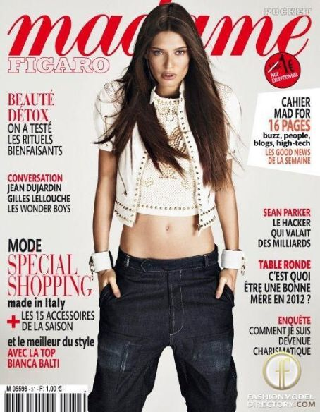 Bianca Balti - Madame Figaro Magazine Cover [France] (18 February 2012)