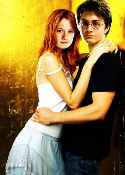 Harry Potter and the Half-Blood Prince Daniel Radcliffe and Bonnie Wright