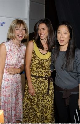 Anna Wintour , Jennifer Connelly, Vera Wang