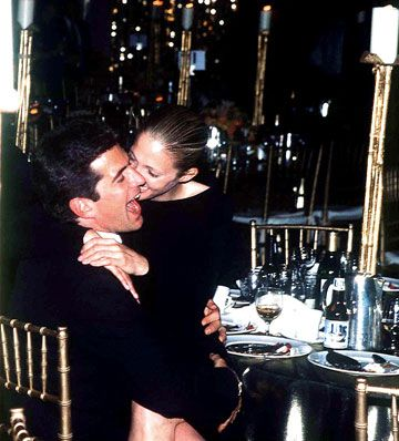 John Kennedy Jr. John F. Kennedy, Jr. and Carolyn Bessette