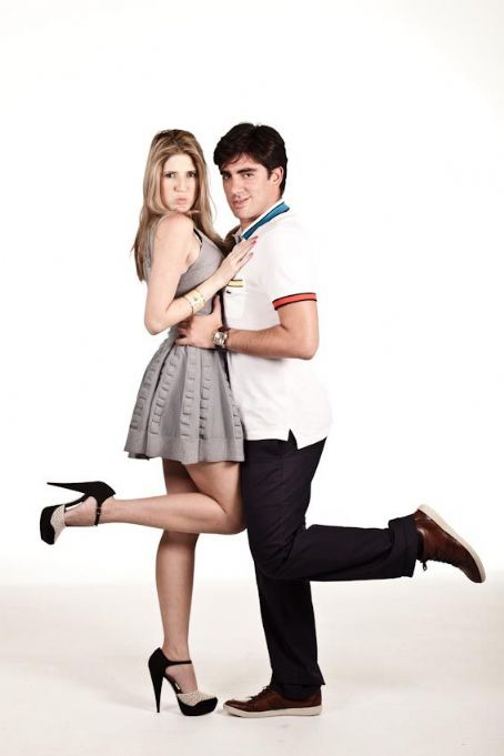 Dani Calabresa and Marcelo Adnet