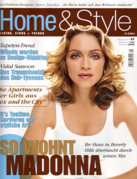 Madonna - Home & Style Magazine Cover [United States] (September 2004)
