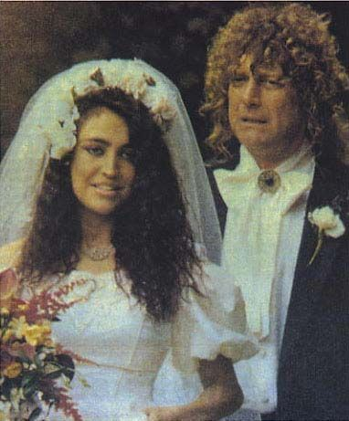 Carmen Plant  wedding, at St. Peter's Church on May 18th 1991