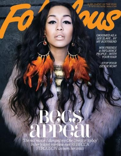 Rebecca Ferguson - Fabulous Magazine Cover [United Kingdom] (14 January 2012)
