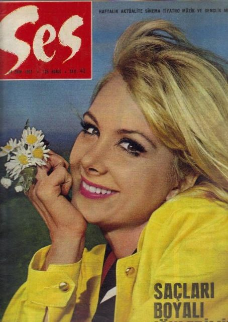 Filiz Akin - Ses Magazine Cover [Turkey] (14 October 1967)