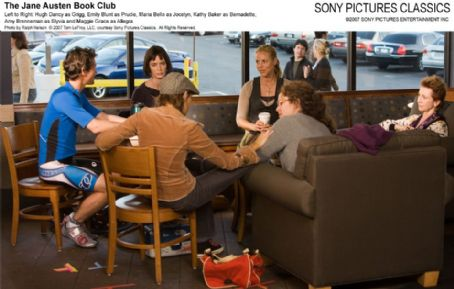 Kathy Baker Left to Right: Hugh Dancy as Grigg, Emily Blunt as Prudie, Maria Bello as Jocelyn,  as Bernadette, Amy Brenneman as Sylvia and Maggie Grace as Allegra. Photo by Ralph Nelson © 2007 Tom LeFroy, LLC, courtesy Sony Pictures Classics. All Right Res