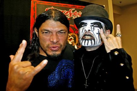 Kim B. Petersen King Diamond with Rob Trujillo