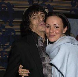 Ron Wood Ronnie Wood & Martine McCutcheon