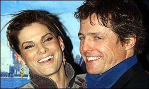 Hugh Grant Sandra Bullock and