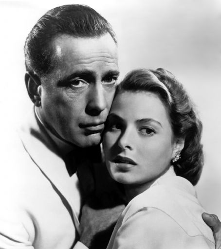 Casablanca Humphrey Bogart and Ingrid Bergman
