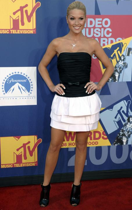 Tara Conner 2008 MTV Video Music Awards Arrivals 09-07-08