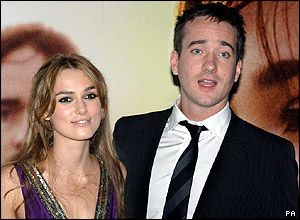 Matthew Macfadyen Keira Knightley and Matthew MacFadyen