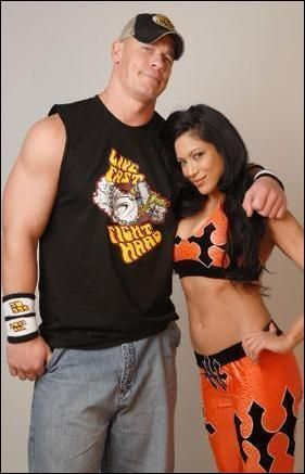 John Cena and Melina Perez