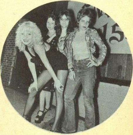 Mackenzie Phillips Sable Starr, , Rodney Bingenheimer and unknown, 1973
