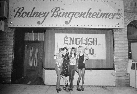 Mackenzie Phillips Unknown, , Rodeny Bingenheimer & Sable Starr, 1973