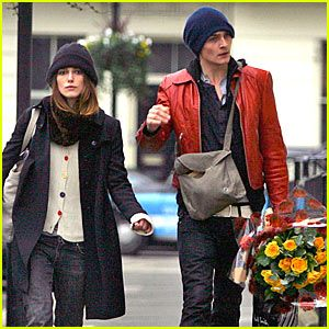 Rupert Friend Keira Knightley and