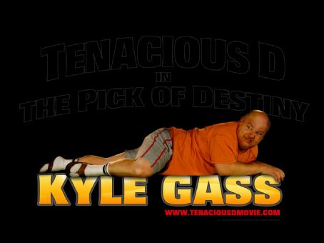 Kyle Gass Tenacious D in the Pick of Destiny Wallpaper