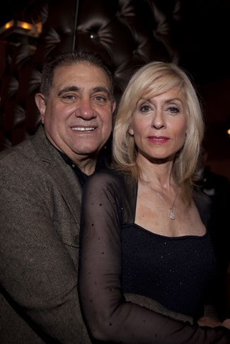 Dan Lauria Dan with Co-star Judith Light at the opening of Lombardi