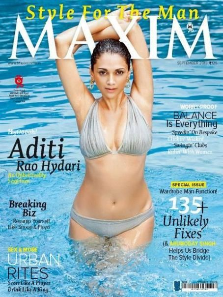 Aditi Rao Hydari  - Maxim Magazine Pictorial [India] (September 2013)
