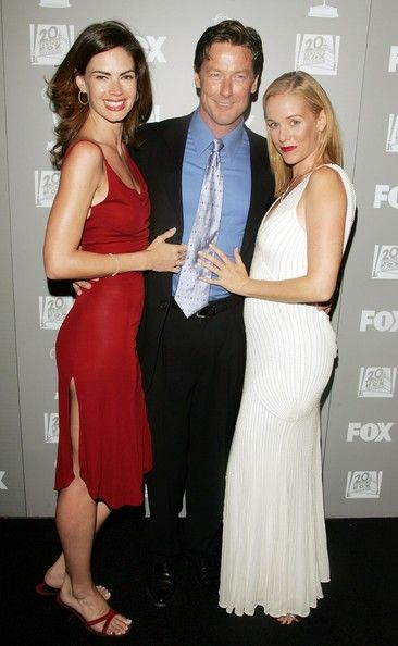 John Allen Nelson (L-R) Actors Justine Eyre,  and Penelope Ann Miller arrive at the 20th Century Fox Television and FOX Broadcasting Company 2006 Emmy party held at Spago on August 27, 2006 in Beverly Hills, California