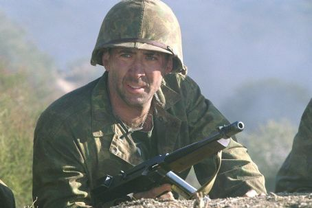 Nicolas Cage as Joe Enders in MGM's Windtalkers - 2002