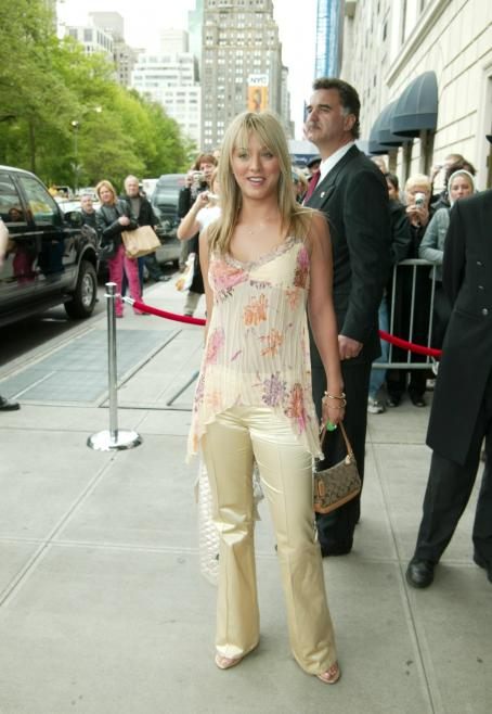 Kaley Cuoco - ABC Television Network UpFront At The Ritz Carlton Hotel On May 13, 2003 In New York City