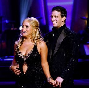 Sabrina Bryan  and Mark Ballas
