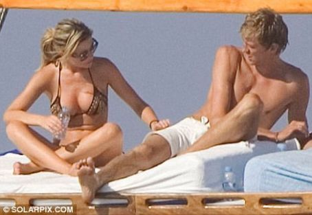 Abbey Clancy Abigail Clancy and Peter Crouch