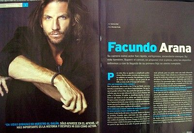 Facundo Arana Miradas Magazine Pictorial June 2008