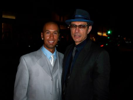 Jeff Goldblum Actors Jason Kakebeen and