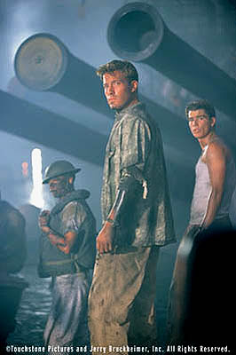 Capt. Rafe McCawley Ben Affleck and Josh Hartnett in Touchstone Pictures' Pearl Harbor - 2001