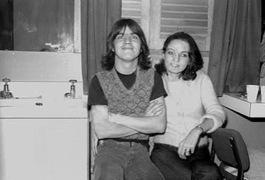 Malcolm Young Malcom and Linda Young