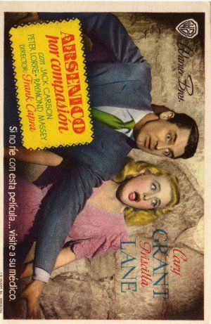 Priscilla Lane and Cary Grant - Arsenic and Old Lace