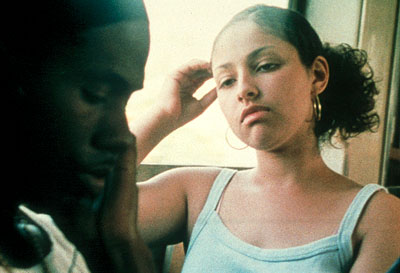 Our Song D'Monroe and Melissa Martinez in IFC Films'  - 2001