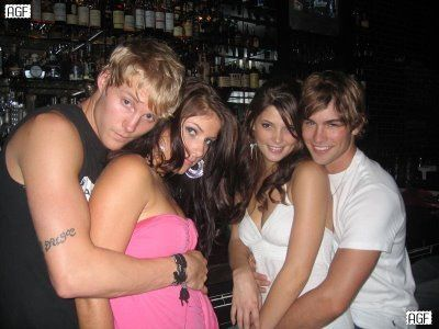 Ashley Greene  w/ Gossip Girl's Chace Crawford