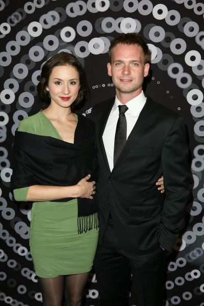 Patrick J. Adams and Troian Bellisario Troian Bellisario and Patrick J. Adams