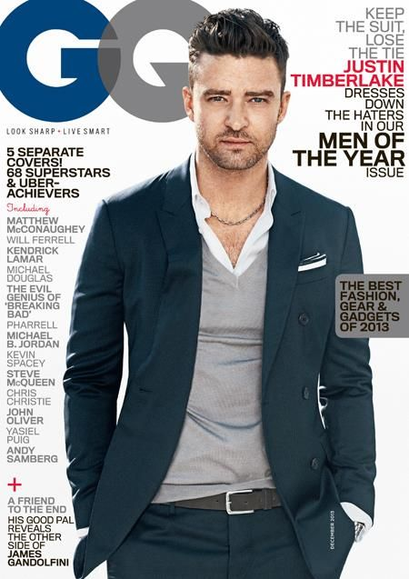 Justin Timberlake - GQ Magazine Cover [United States] (December 2013)