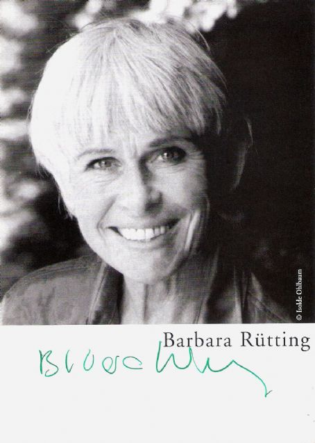 Barbara Rütting - Barbara Rütting