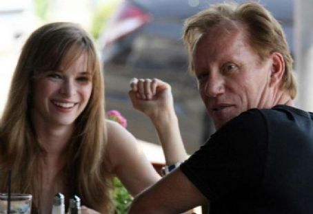 Danielle Panabaker  and James Woods