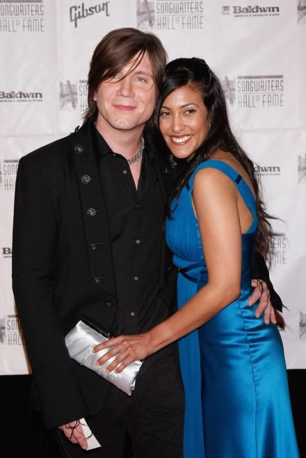 Johnny Rzeznik and Melina Gallo