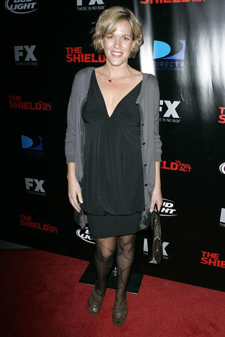 Catherine Dent  - Series Finale Of The Shield In Hollywood, 25.11.2008.