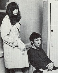 Pete Townshend  and Karen Astley