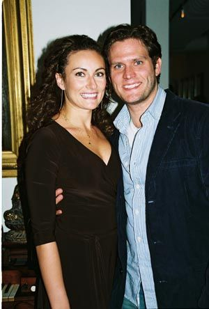 Laura Benanti  and Steven Pasquale